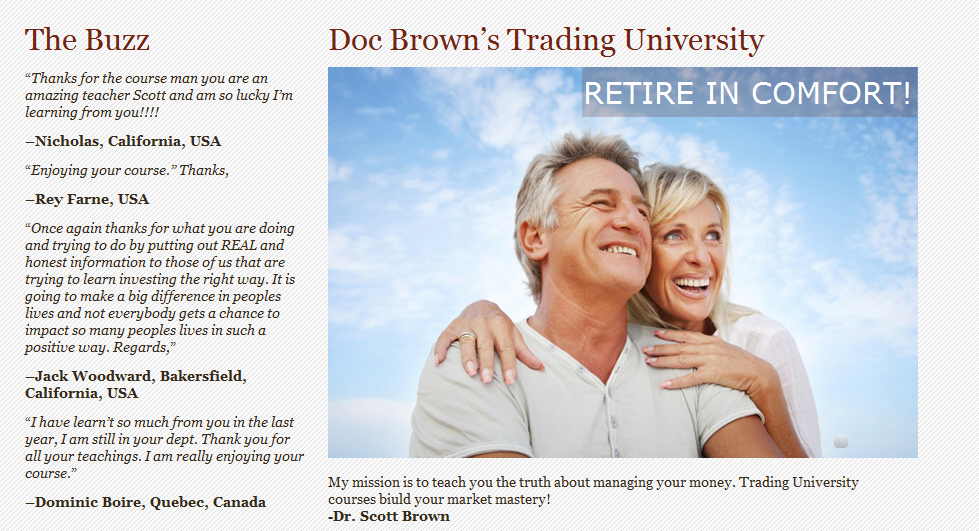 Course in Stock Trading