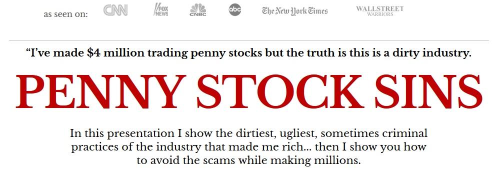 Penny Stock Sins